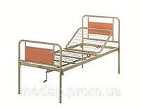 Кровать металлическая функциональная двухсекционная