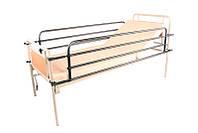 Откидные поручни для кровати металлической