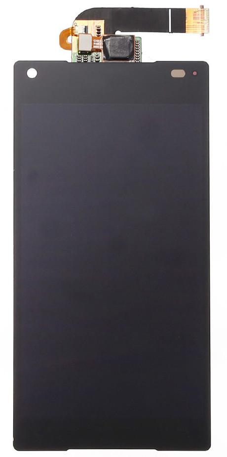 Модуль Sony Xperia Z5 Compact (mini) black дисплей экран, сенсор тач скрин Сони