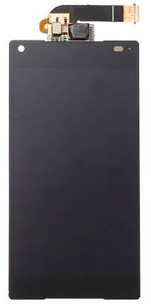 Модуль Sony Xperia Z5 Compact (mini) black дисплей экран, сенсор тач скрин Сони, фото 2