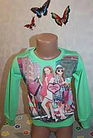 Детская одежда из Турции оптом от производителя.Кофточка на девочку 5,6,7,8 лет 100 % хлопок