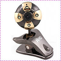Веб камера HQ-Tech WU-9008 Black, USB 2.0, встроенный микрофон