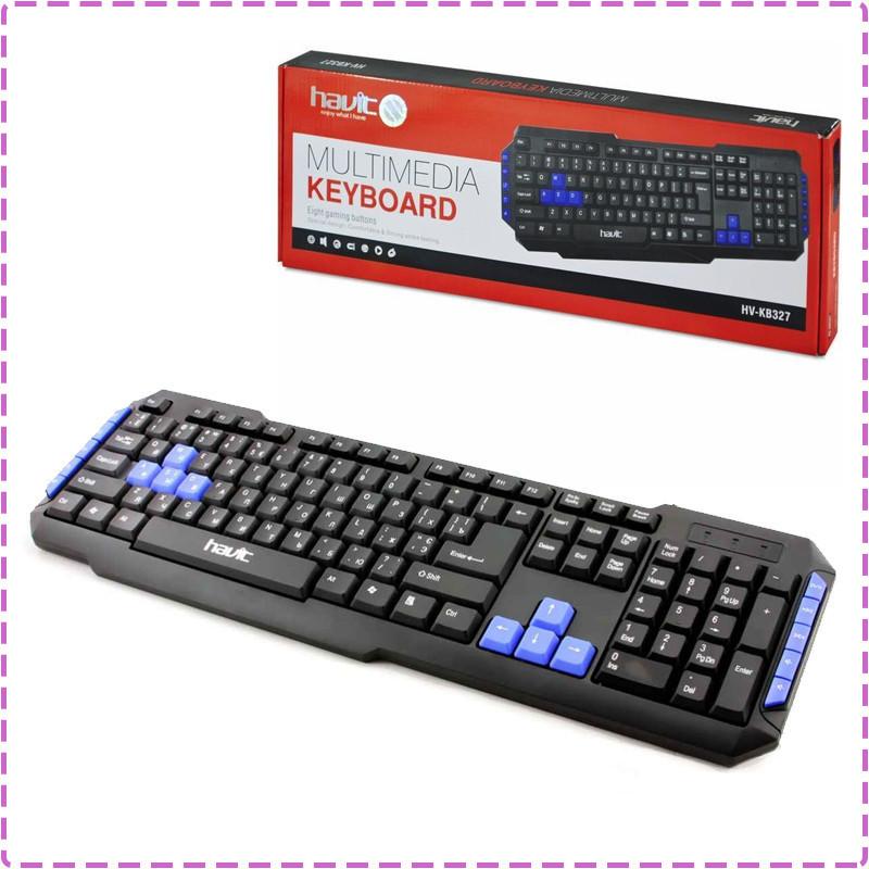 6a77945c422 Клавиатура Havit HV-KB327, Black, USB, цена 190 грн., купить в ...