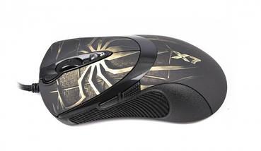 Игровая мышка A4Tech X7 XL-747 H Brown USB геймерская мышь а4теч oscar Х7 для компьютера, пк, ноутбука, фото 3