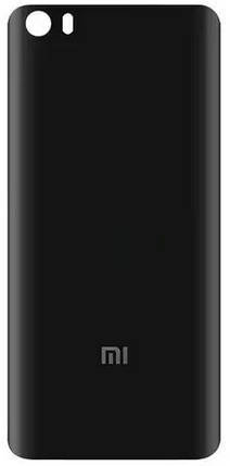 Задня кришка Xiaomi Mi5 black, змінна панель сяоми ксиоми, фото 2