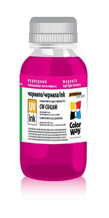 Чернила ColorWay Premium Canon CL-38/41/51/441/511/513, CLI-8/521/426, Magenta, 100 мл (CW-CU426M01), краска для принтера, фото 2