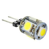 Светодиодная лампа G4 1.2W 12V 5штук smd5050
