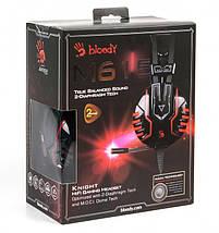 Игровые наушники с микрофоном Bloody M615 Black, игровая гарнитура, фото 3