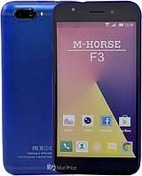 """Сенсорный мобильный телефон (смартфон) M-Horse F3 (5"""") Blue"""
