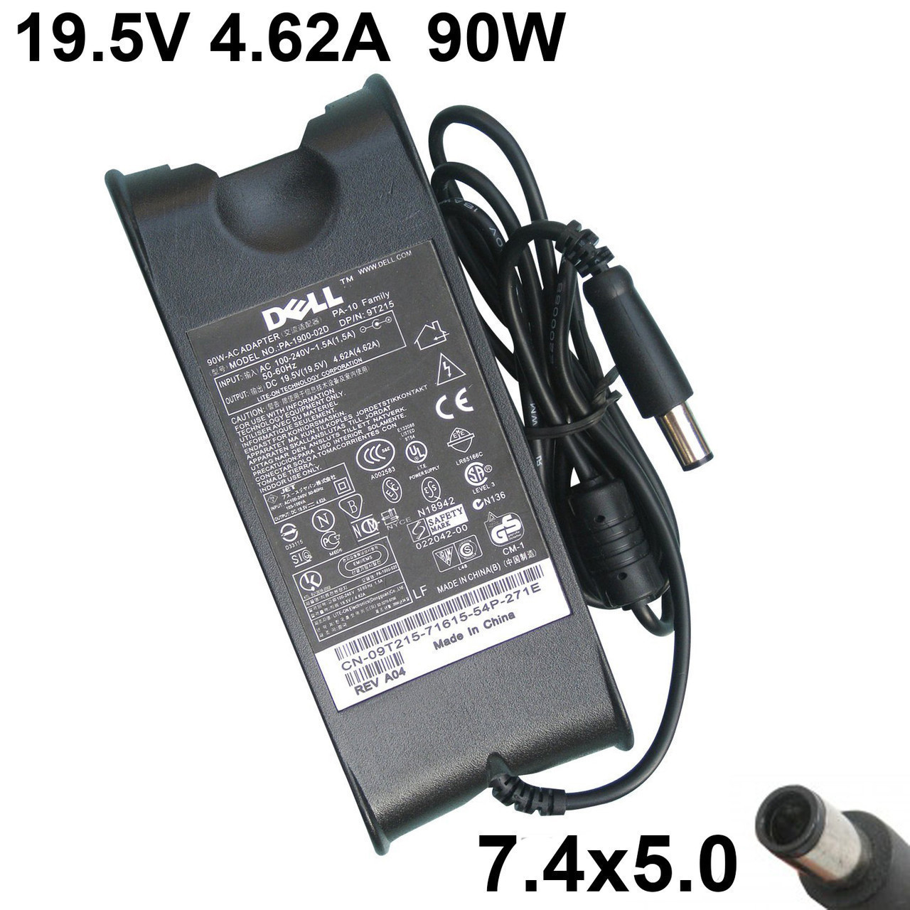 Блок питания для ноутбука зарядное устройство Dell Studio XPS 13, XPS 1340, XPS 16, XPS 1640, XPS 1645