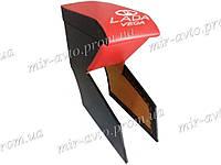 Подлокотник красный с вышивкой ВАЗ 2110