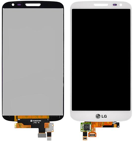Модуль LG G2 mini (D618) white дисплей экран, сенсор тач скрин ЛЖ