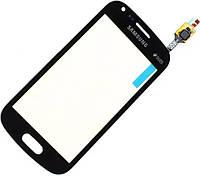 Сенсор Samsung S7582 Galaxy Trend Plus Duos, black (оригинал), тач скрин Самсунг