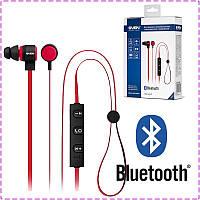 Блютуз наушники Sven SEB-B270MV Black/Red, вакуумные, беспроводные наушники bluetooth гарнитура для телефона