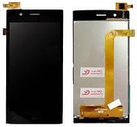 Модуль FLY FS451 Nimbus 1 black дисплей экран, сенсор тач скрин Флай