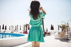 Женский летний костюм с жемчугом , фото 2