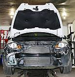 Декоративно-защитная сетка радиатора Seat Altea 4 Freetreck фальшрадиаторная решетка, бампер, фото 2