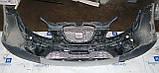 Декоративно-защитная сетка радиатора Seat Altea 4 Freetreck фальшрадиаторная решетка, бампер, фото 3