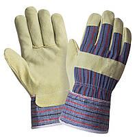 Перчатки комбинированные со спилком