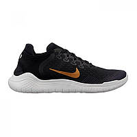 Кроссовки Nike Free Run 2018 Black/Gold,  (10095817)