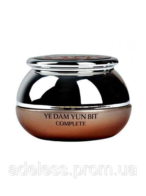 Восстанавливающий крем для кожи вокруг глаз YEDAM YUN BIT COMPLETE SKIN Snail Recover Woman Eye Cream, 50мл