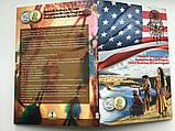 Альбом под памятные монеты США 1 доллар Сакагавея , коренные американцы, Сьюзен Энтони, капсульный., фото 4