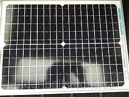 Солнечная панель 12V-20W, Солнечная батарея