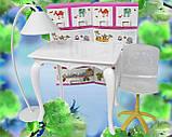 Стол, стул и торшер (аксессуары для кукол), фото 6