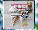 Стол, стул и торшер (аксессуары для кукол), фото 5