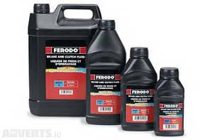 Тормозная жидкость Ferodo DOT 4 (1 л) Brake Fluid FBX100