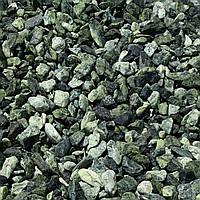 Мраморная галька зеленая Верде Роял (Греция) (min 25кг)