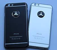 Чехол для iPhone 6 Mercedes металлический, фото 1