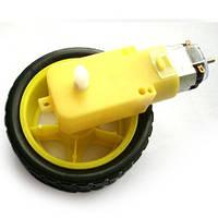 Мотор-редуктор з колесом, фото 1