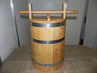 Кадка дубовая 30л, фото 1