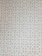Обои виниловые на флизелиновой основе  GranDeco OS3305  Opus  геометрия серый с белыми полосами абстракция
