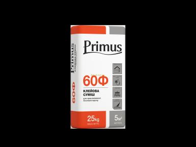 Клей для приклеивания пенопласта Примус 60Ф