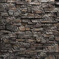 """Плитка под камень. Декоративная гипсовая плитка """"Карфаген"""" серая - 0,55 м.кв."""