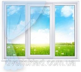 Вікна Стандарт 2000*1400, 4 камери, 2 скла з доставкою
