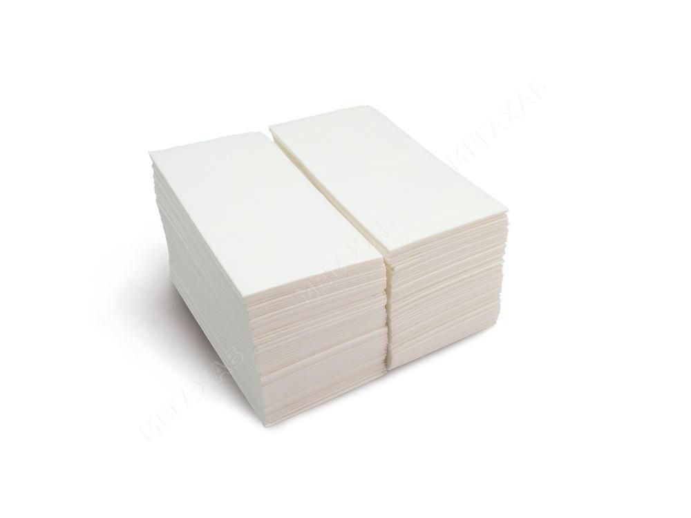 Серветки паперові 33х33см, 2-х сл., білі 1/4 сл., 100 шт/уп.