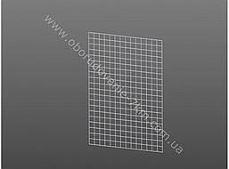 Сетка Торговая Белая (решетка) 100х75см проволока 3мм,ячейка 50/50мм.