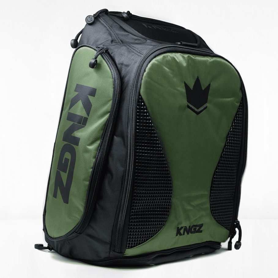Рюкзак Kingz Convertible Training Bag 2.0 Черный с зеленым