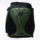 Рюкзак Kingz Convertible Training Bag 2.0 Черный с зеленым, фото 3