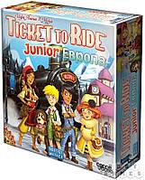 Настольная игра для детей Ticket to Ride Junior: Европа