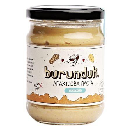 """Арахисовая паста """"С кокосом"""" burunduk"""