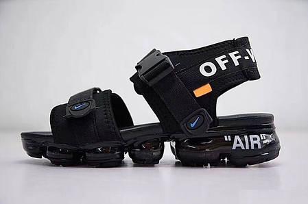 "Сандалі Nike x Off White ""Чорні"", фото 2"