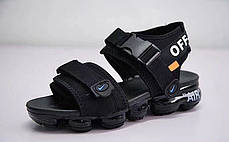 "Сандалі Nike x Off White ""Чорні"", фото 3"