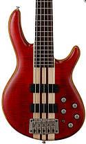 Бас-гітара 5-струнна CORT A5 Plus FMMH (Open Pore Black Cherry), фото 3
