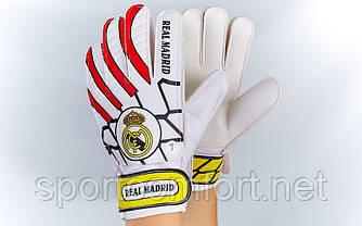Воротарські рукавички дитячі 6-ка. Клуб Real Madrid