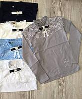 Гольф шкільний для дівчинки на 10-16 років білого, молочного, блакитного, сірого, синього кольору оптом