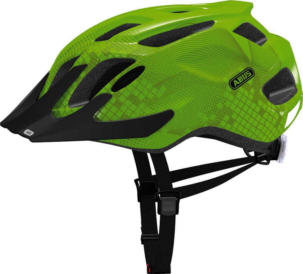 Велосипедний дитячий шолом ABUS MOUNTX M Apple Green